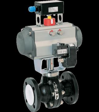 شیر توپی خطی PTFE (عایق تفلون) سامسون برای برنامه های کاربردی خدمات عمومی تا حد مجاز کلاس ANSI 150 طراحی شده است. این برنامه های کاربردی خدمات عمومی بر روی رسانه های بسیار خورنده ای